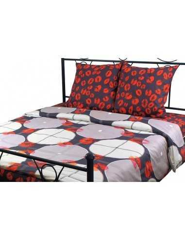 Семейное постельное белье Руно 40-0684+40-0685, 50х70 (2шт) см