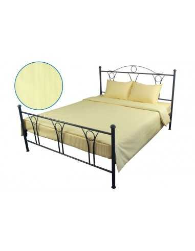 Двоспальна постільна білизна Руно Beige, 70х70 (2шт) см