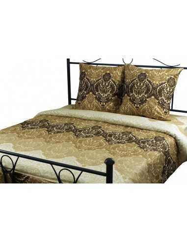 Полуторное постельное белье Руно Beige Brown 3603, 70х70 (2шт) см