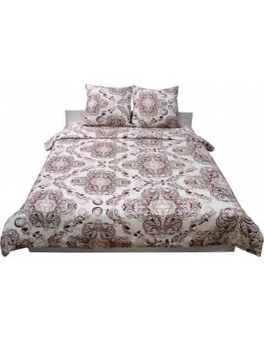 Семейное постельное белье Руно Beige Brown 40-0485, 50х70 (2шт) см
