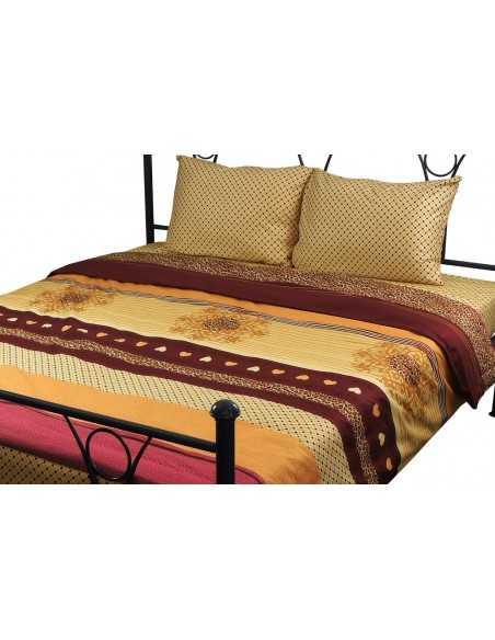Полуторное постельное белье Руно Bordo 40-0689, 70х70 (2шт) см