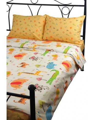 Двуспальное постельное белье Руно Jungle, 50х70 (2шт) см
